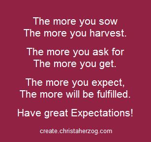 All The Expectations Of Your Life Achieved