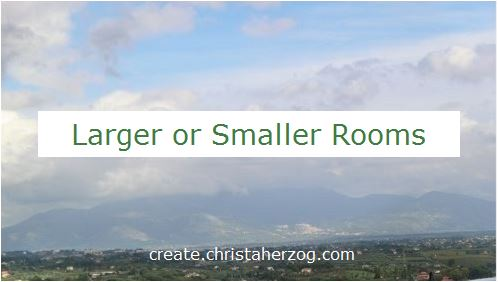 large or small room