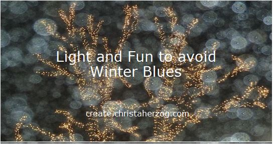 light and fun to avoid winter blues