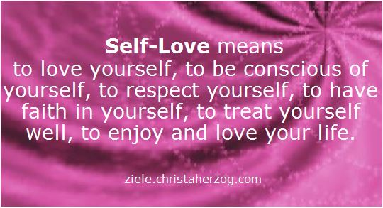 Self-Love means