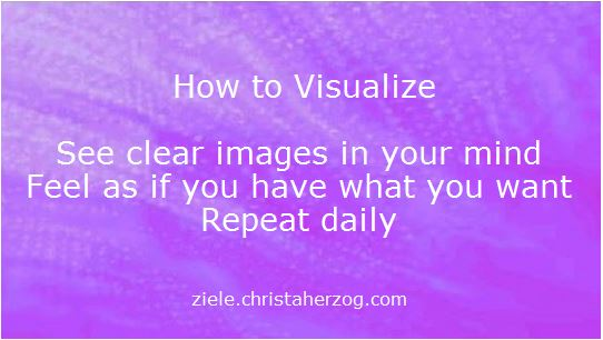 how to visualize