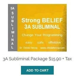 strong belief 3a subliminal with cart