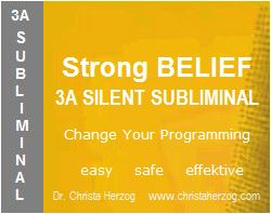 Strong Belief 3A Silent Subliminal