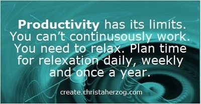 Productivity has Limits