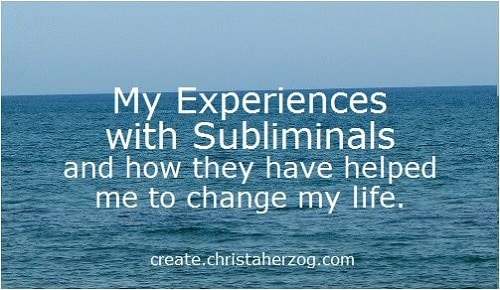 My Experiences with Subliminals