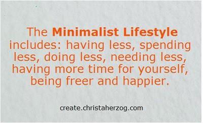 Minimalist Lifestyle