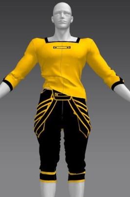 【Marvelous Designer 4】型紙を変えずに服のサイズを変更する。