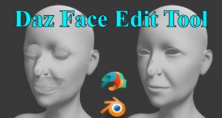 【DazFaceEditTool,Blender2.80,DazStudio4.11】無料アドオン配布!無料でできる!DazStudioとBlenderの連携。【5】応用編その2