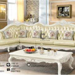Harga Sofa Klasik Modern Top Grain Leather Conditioner Set Arjuna Createak Furniture