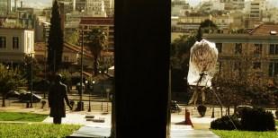rooster @ ПАРНИК | photo: Geli Kalampaka | 11.2012 | Eleftherias Park, Athens