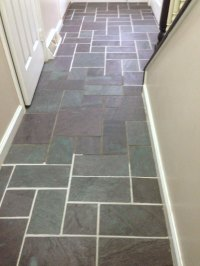 Slate Floor Grout Renew - Create and Babble