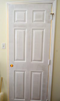 Tips for Painting Interior Doors and Trim - Create and Babble