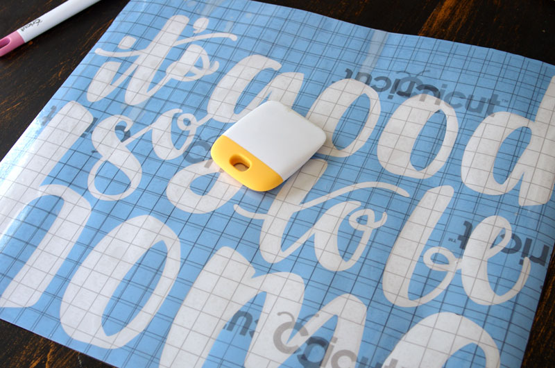 How and Why to Use Cricut Stencil Vinyl