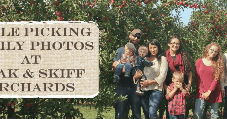 Apple Picking Family Photos At Beak & Skiff Orchards