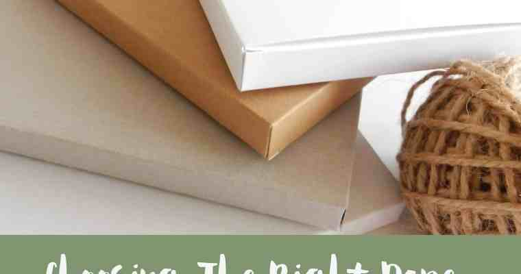 Choosing The Right Paper | My Guide To Cardstock for Favor Tags