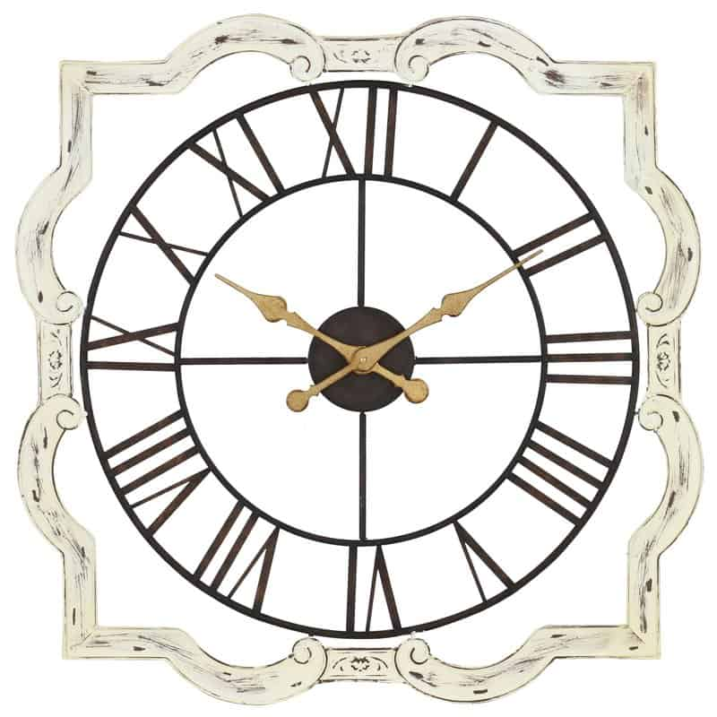 Oversized Eloise French Country Wall Clock