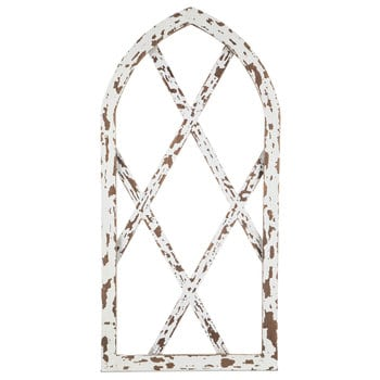 Chippy White Arched Wood Wall Decor Hobby Lobby