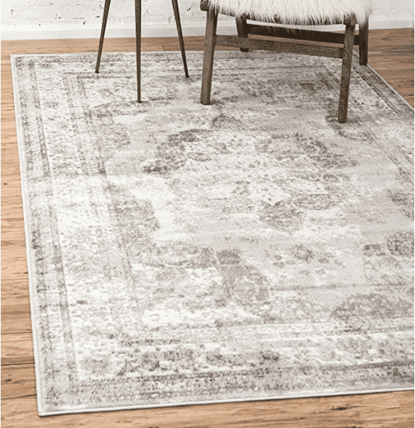 Unique Loom Sofia Traditional Area Rug, 8' 0 x 10' 0, Beige