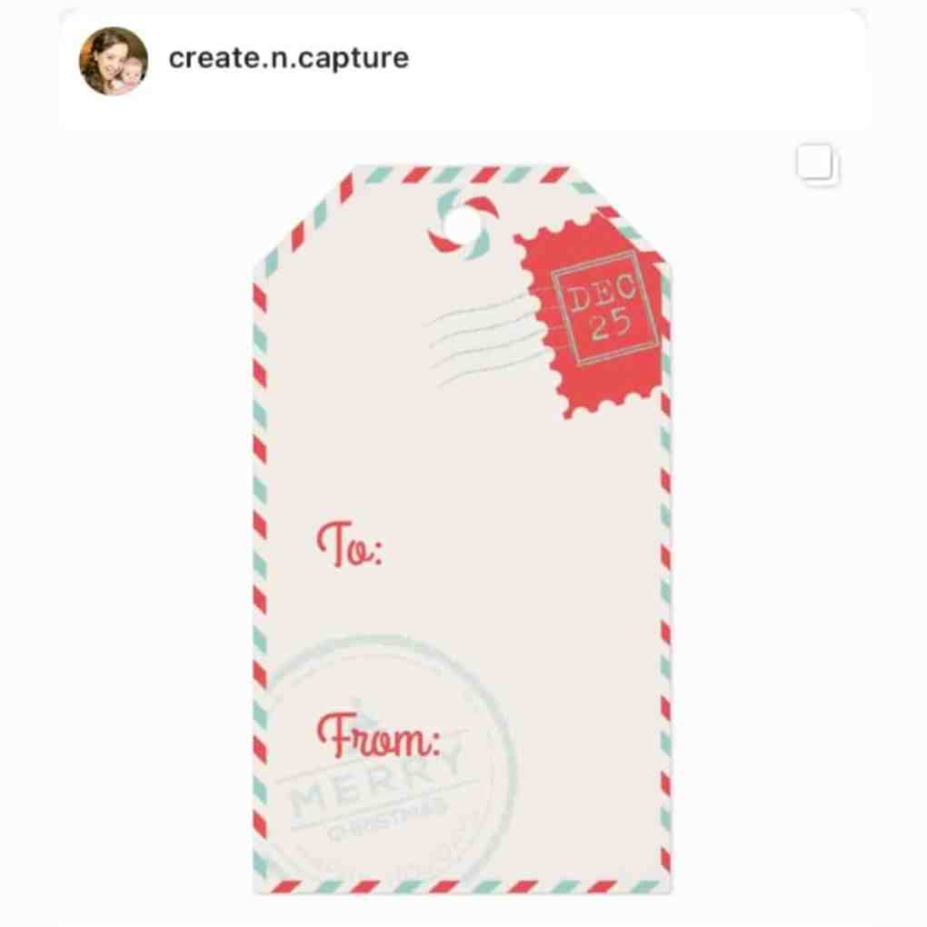 Special Delivery Christmas Gift Tags from Create&Capture on Zazzle | create&capture gift guide 2020