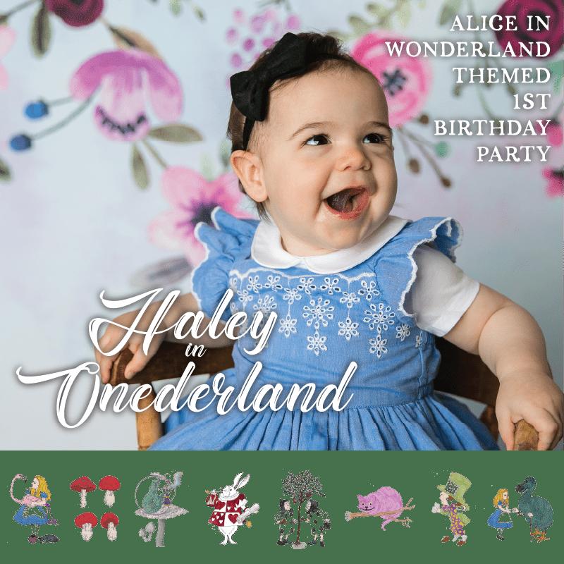 Alice In Wonderland Themed Birthday Party | Create&Capture