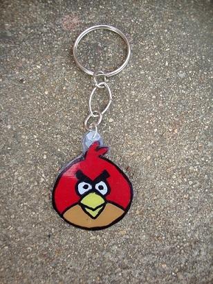 How To Make A Key Chain Angry Bird Key Chain DIY Create