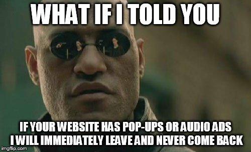 ads break trust meme