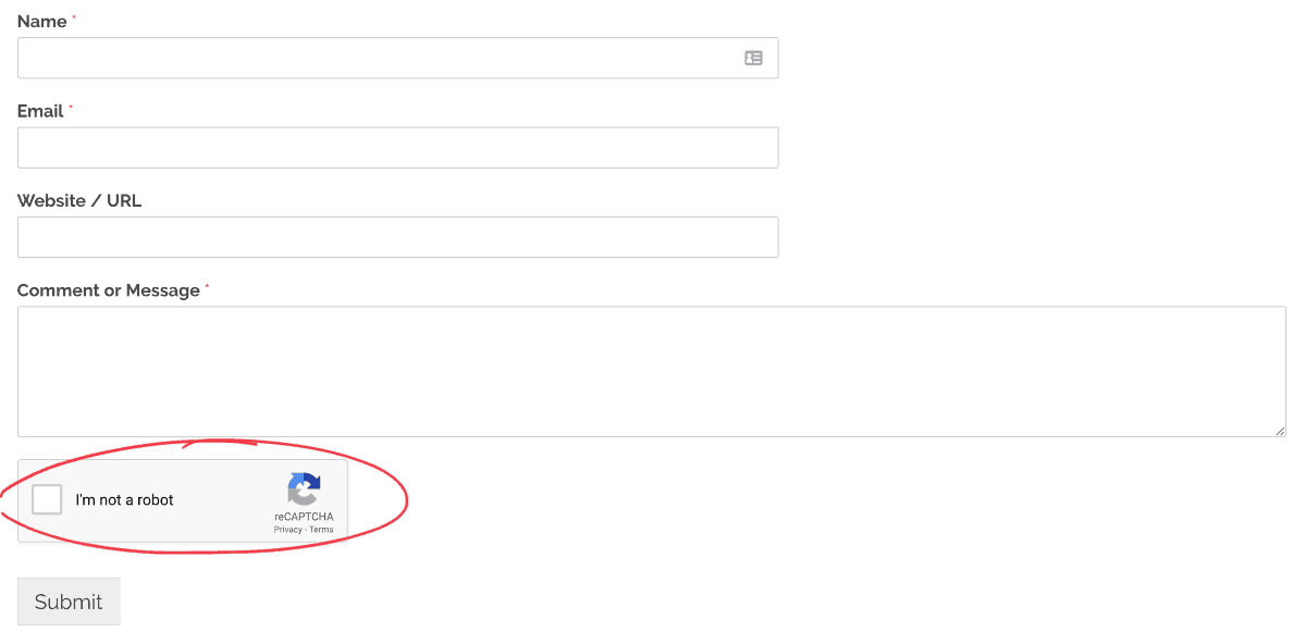 comment form plugin for WordPress