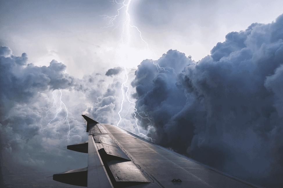 pixabay free stock photos lightning plane