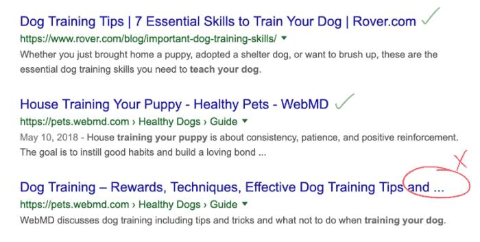 google headline cutoff