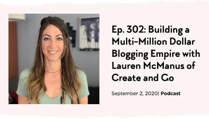 lauren blogging podcast