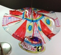 Chihuly Mobile Art Lesson for kids