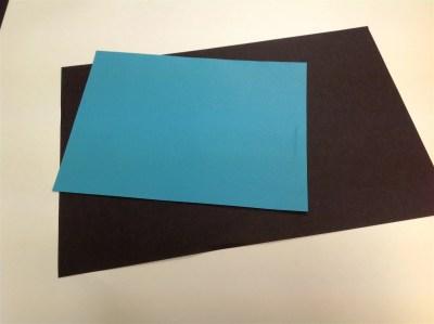 positive negative space reversal collage notan cut paper