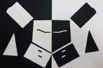 Positive Negative Space Reversal Collage