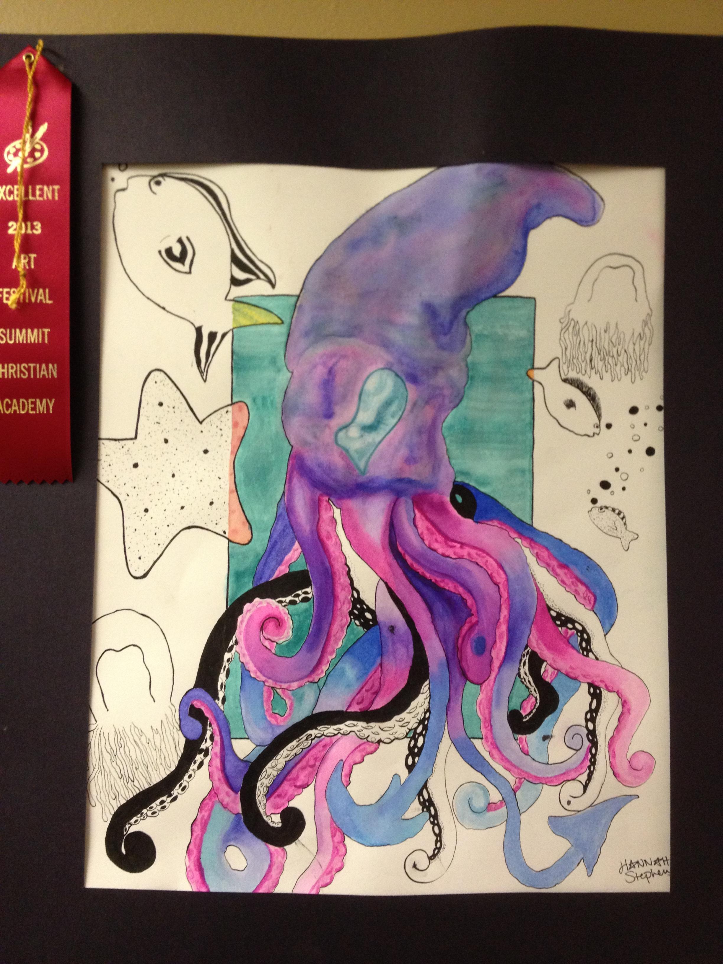 High School Art