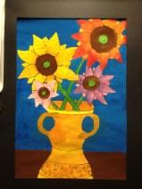 Van Gogh Sunflower