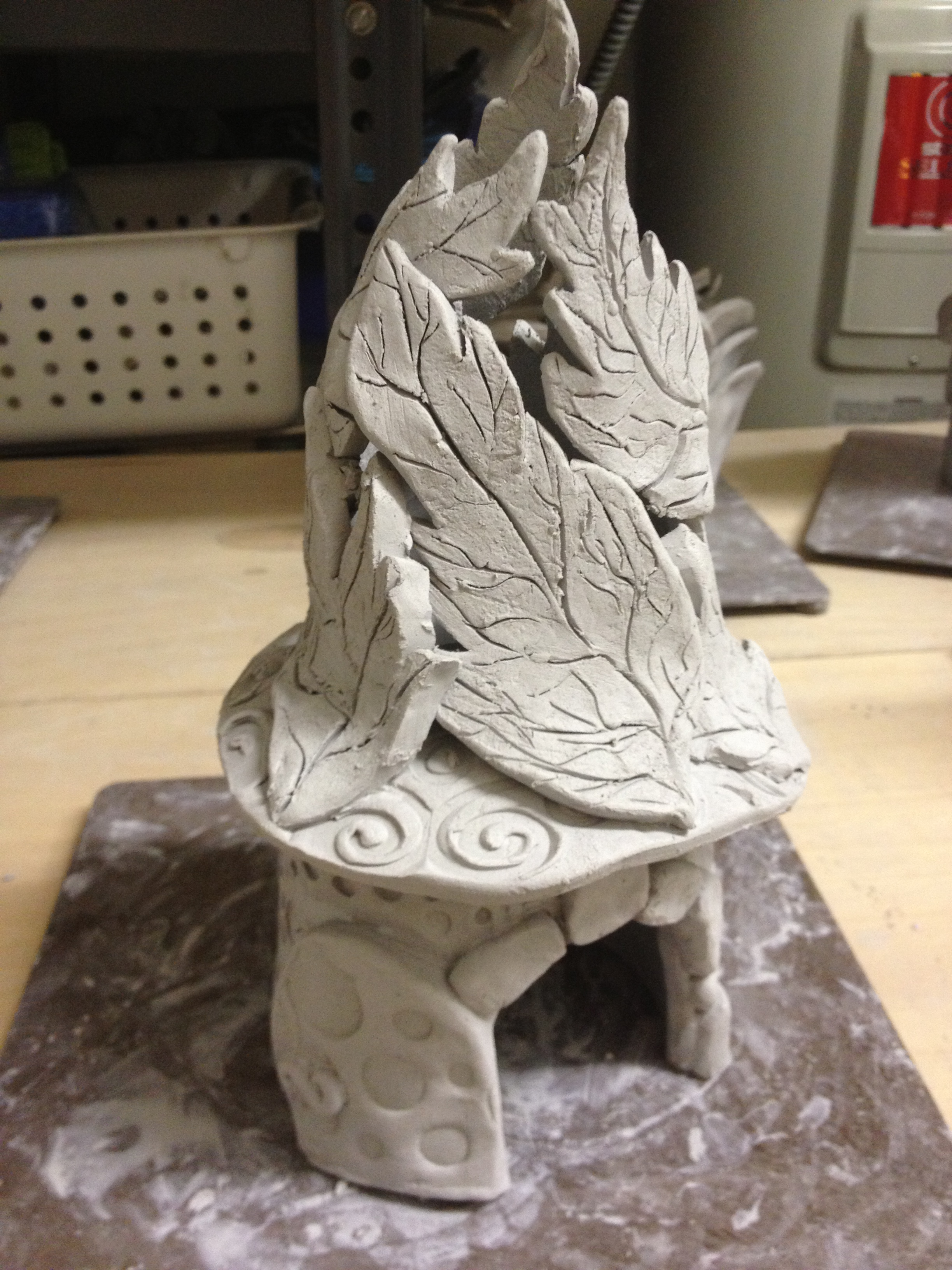 Ceramic Fairy Houses Lesson Part One Slab Construction