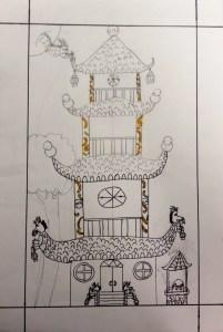 Pagoda Asian Architecture Lesson