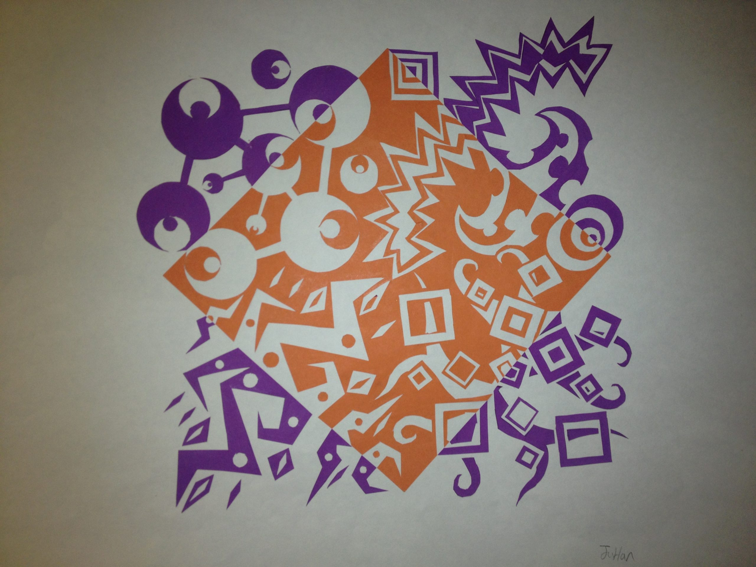 Notan Art Lesson (Positive \u0026 Negative Space) - Create Art with ME [ 1920 x 2560 Pixel ]