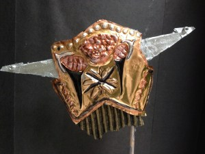 Repousse Masks Metal Tooling Foil embossing lesson