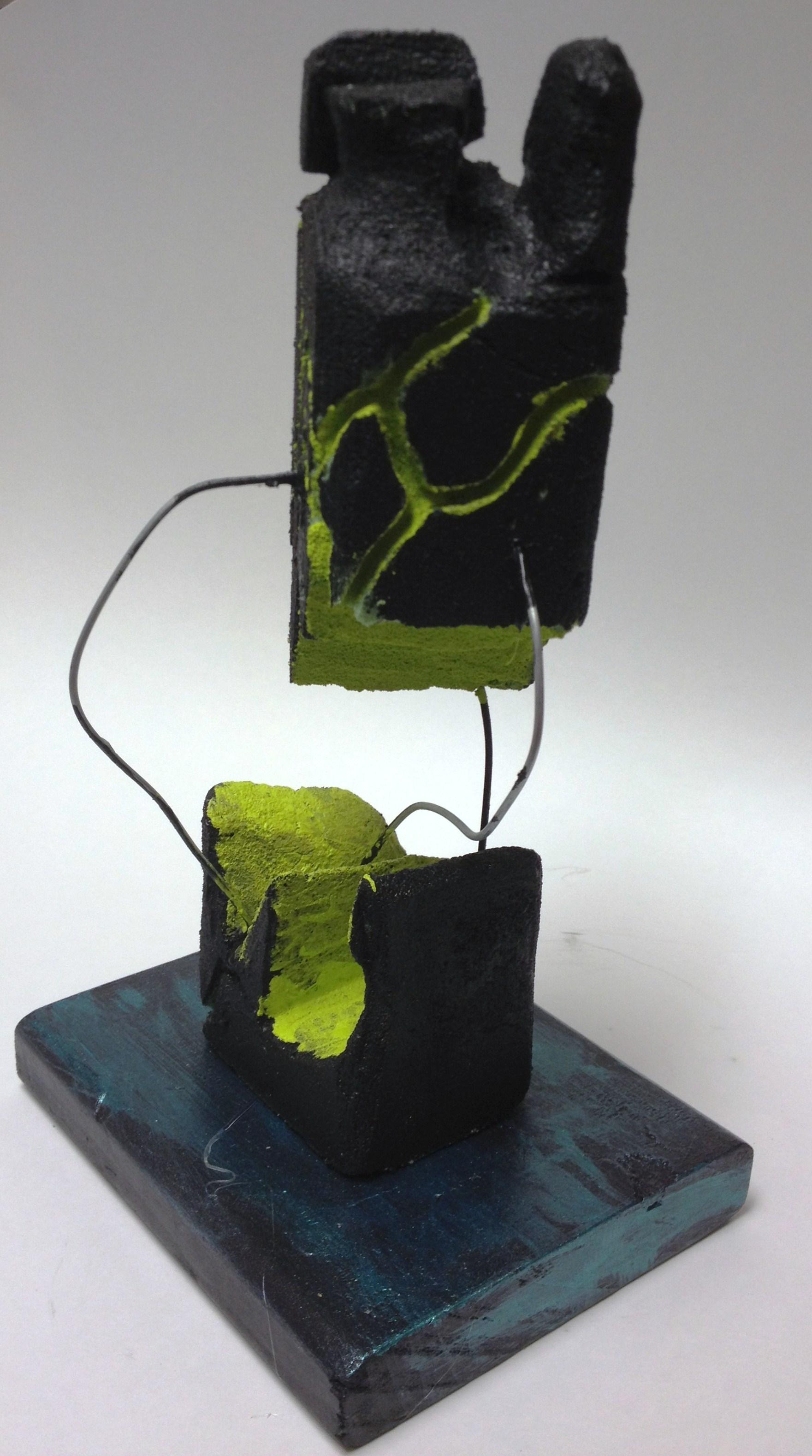 abstract styrofoam sculpture floral foam