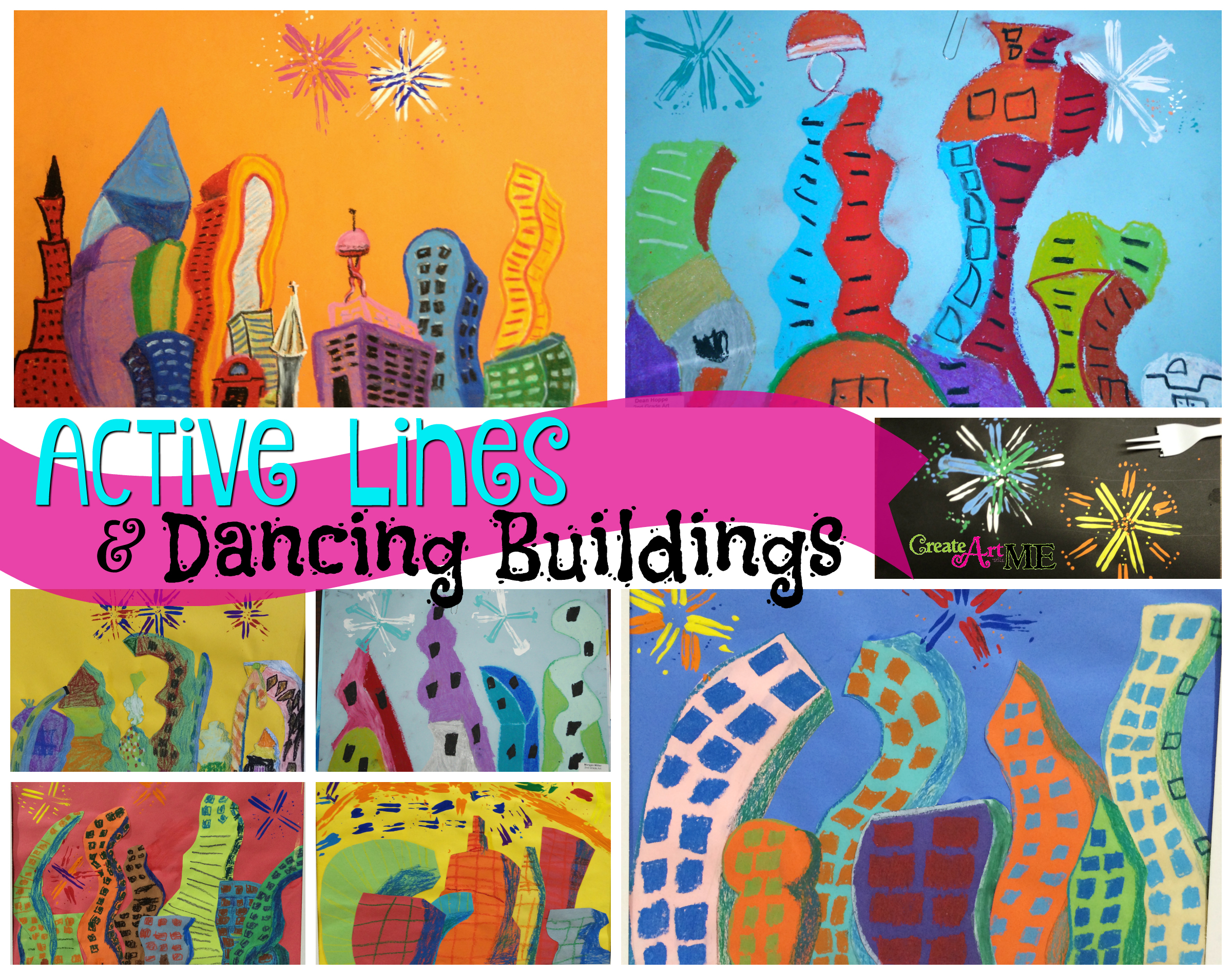 Active Lines Amp Dancing Buildings