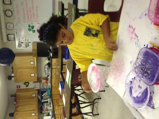 bubble Shaving Cream Painting