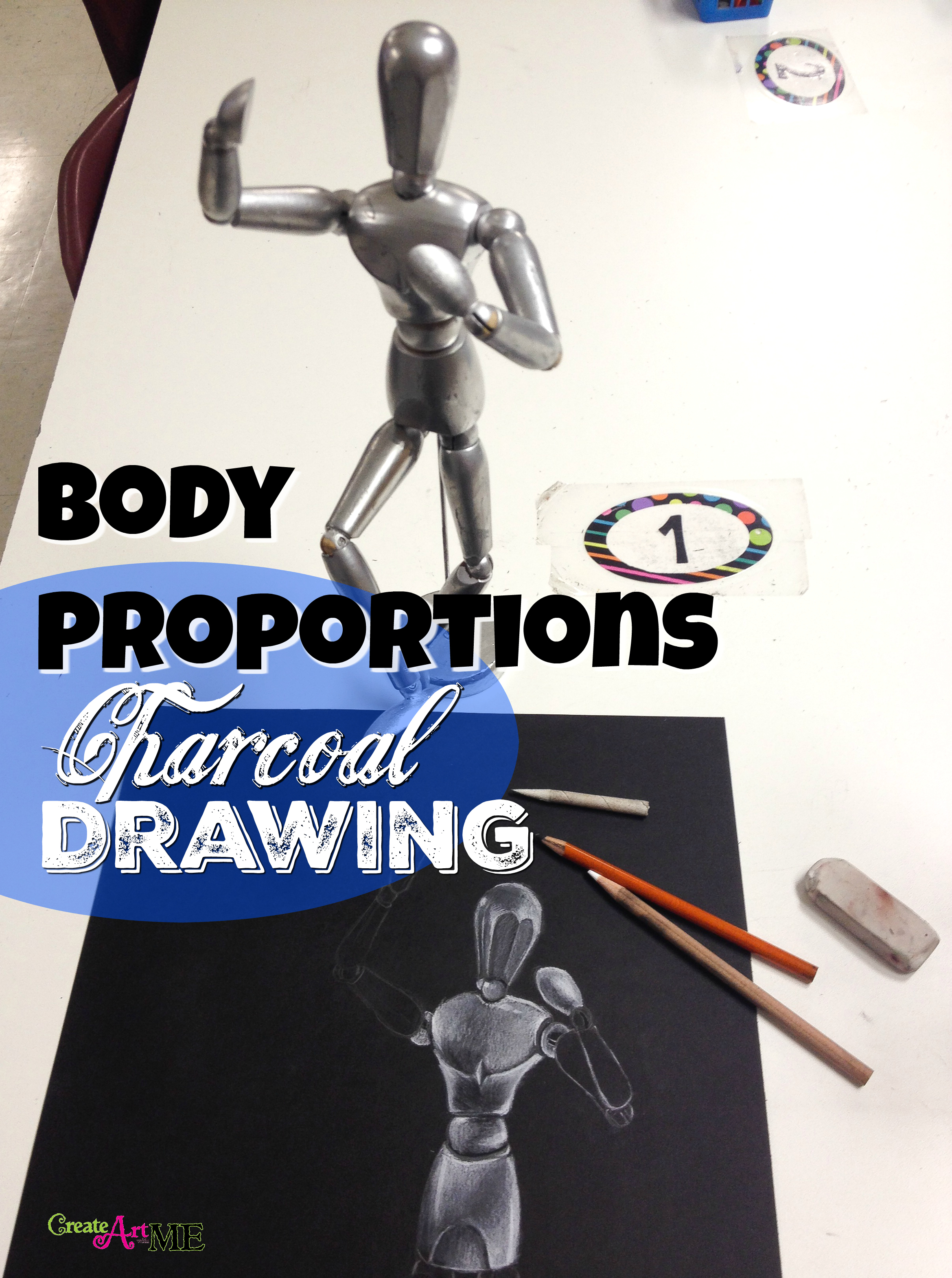 Body Proportions Wooden Mannequin Drawings 2 Lessons