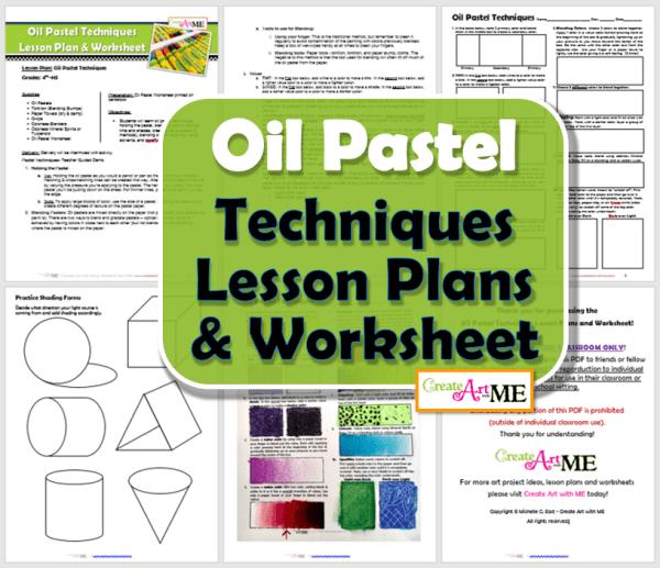 Oil Pastel Techniques Lesson Plans & Worksheets