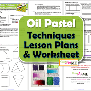 Oil Pastel Techniques Lesson Plans & Worksheets