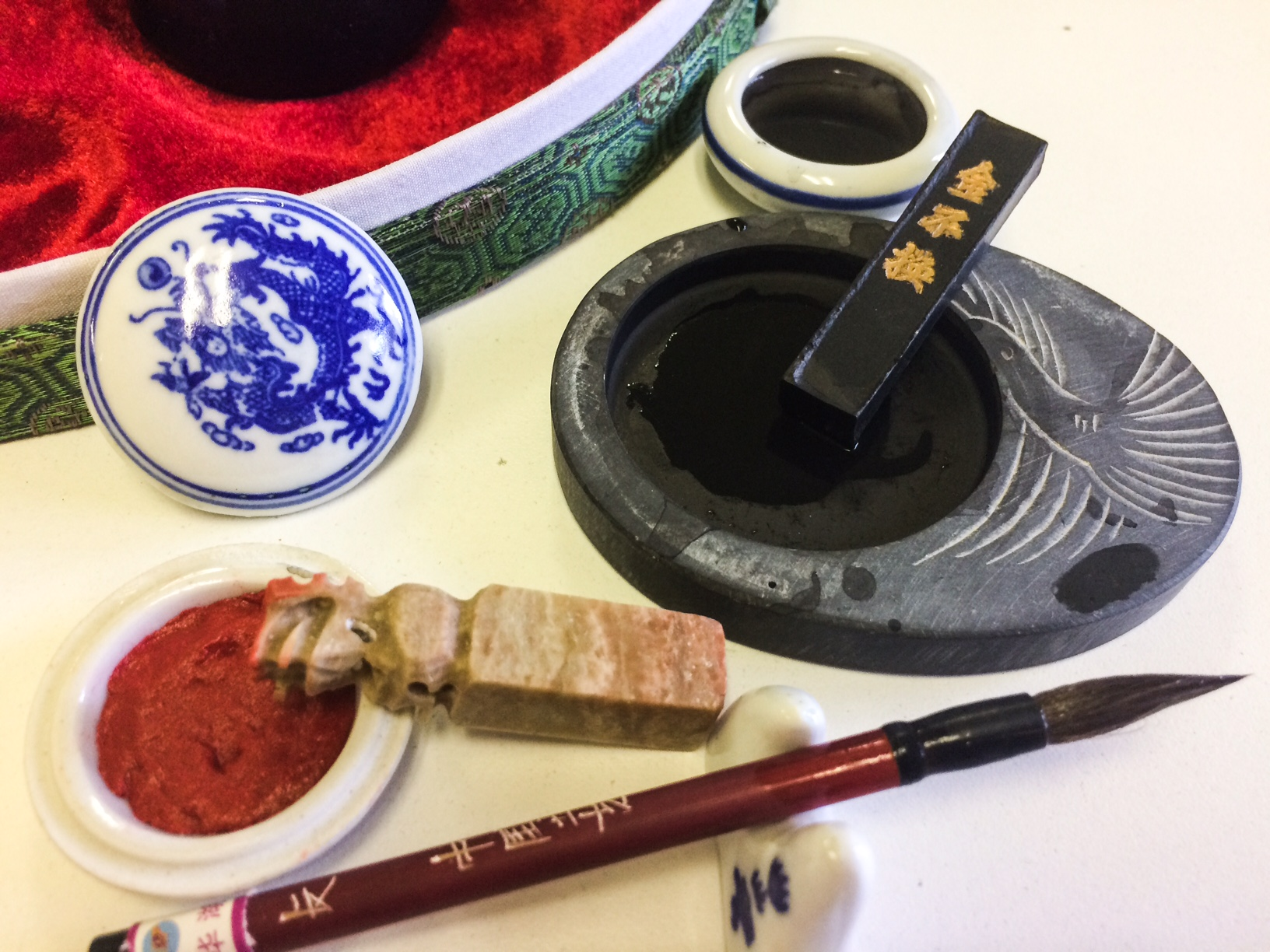 Sumi E Painting History Amp The 4 Treasures Lesson 1