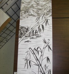 Sumi-e Painting Scroll Project - Create Art with ME [ 2592 x 1944 Pixel ]