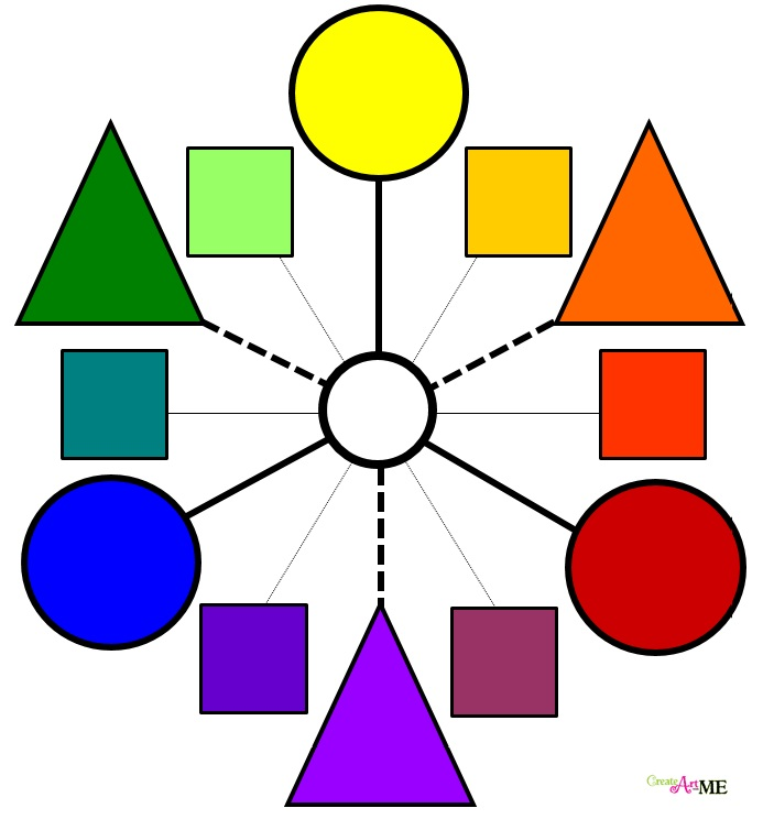 how to create a colour wheel
