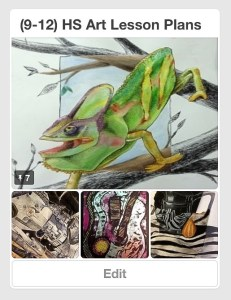(9-12th) HS Art Lesson Plans Pinterest