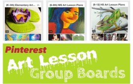 Art Lesson Plans Pinterest Group Boards